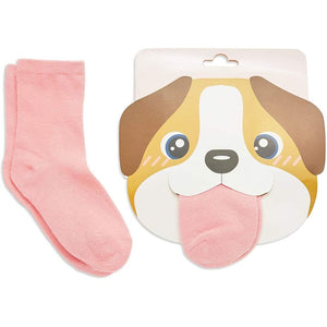 Dog Lovers Socks for Girls, Fun Gift Set (One Size, 6 Pairs)