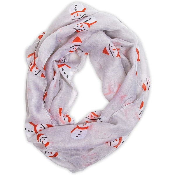 Christmas Infinity Scarf for Women (2 Pack)