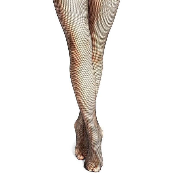 Crotchless Pantyhose for Women, Black (One Pair)