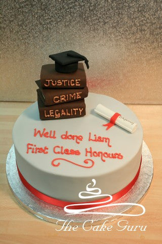 Criminology Graduate Cake