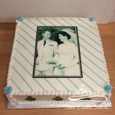 Wedding Memories Anniversary Cake