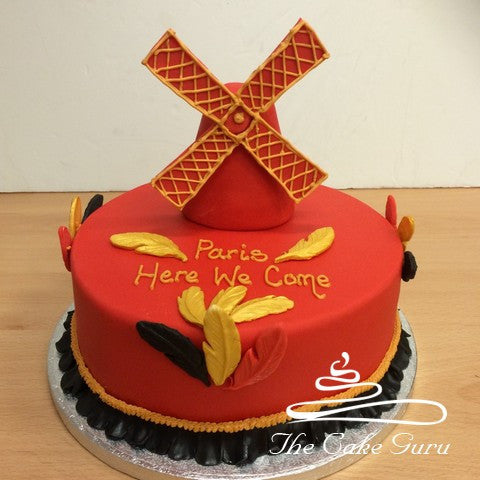 Moulin Rouge Girls Trip Cake