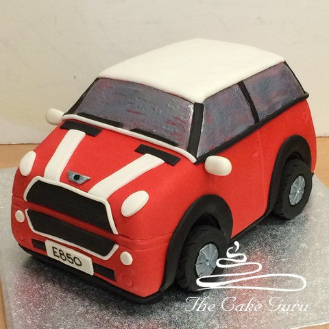 Red Mini Carved Cake