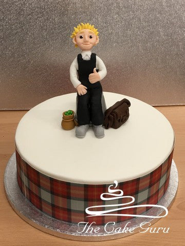 Oor Wullies 80th Birthday Cake For DC Thomson