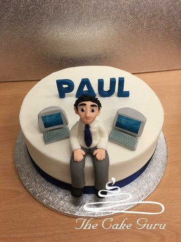 Computer Specialist Cake