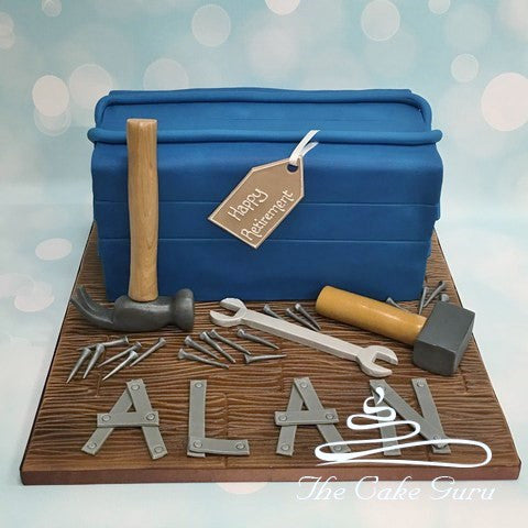 Toolbox Retirement Cake
