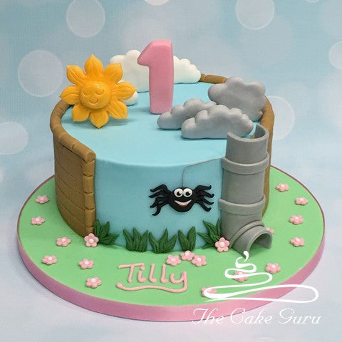 Incy Wincy Spider Birthday Cake