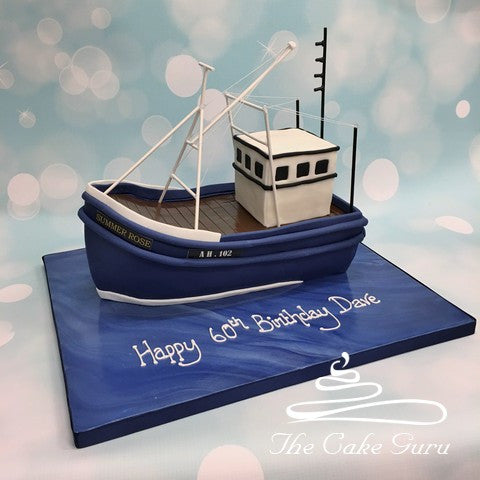Fishing Trawler Cake