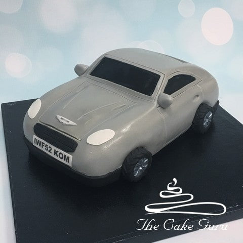 Aston Martin Carved Cake