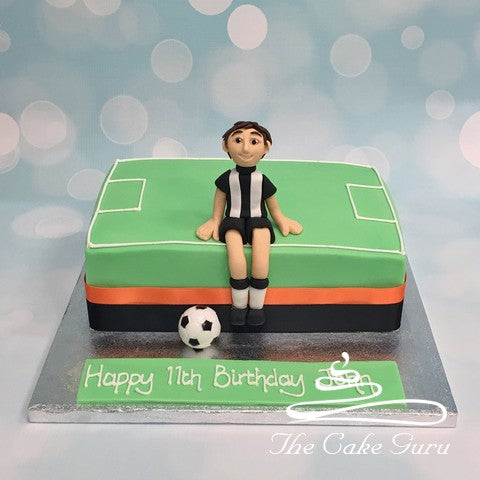Football Fan Birthday Cake
