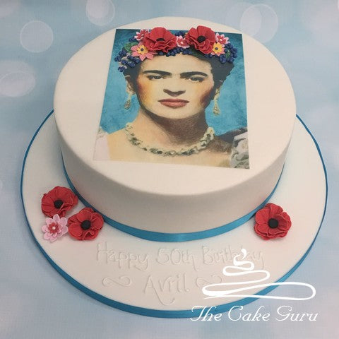 Frida Kahlo Birthday Cake