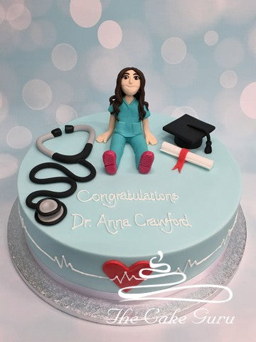 Graduation Cake for a Doctor