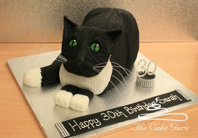 Carved Cat Cake