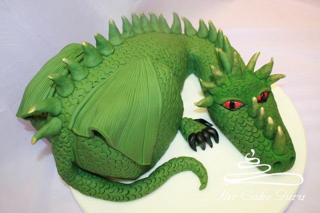 Dragon Carved Cake