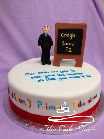 Primary Teacher Graduation Cake