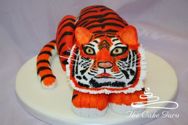 Tiger Carved Cake