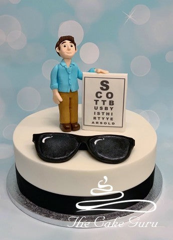 Optometrist Birthday Cake