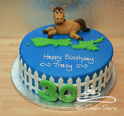 Stud Farm NZ Birthday Cake