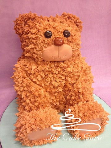 Seated Teddy Bear Cake
