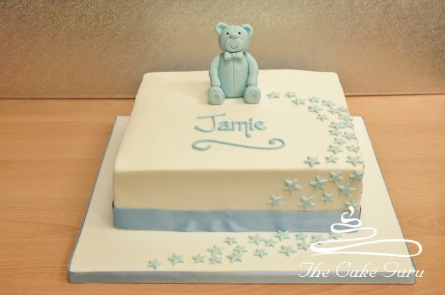 Teddy and Stars Cake