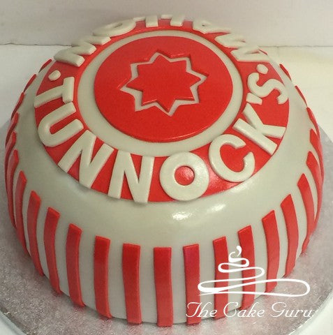 Tunnocks Teacake Carved Cake