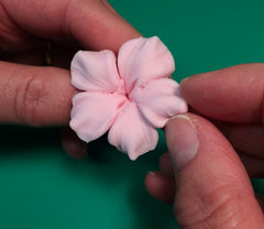Sugar blossom tutorial - pulling the petals
