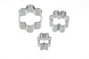 Set of 3 Flower Fondant Cutters