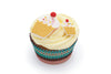 Set of 3 Cupcake Fondant Cutters