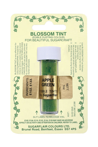 Sugarflair Blossom Tint Dusting Colours - Apple Green