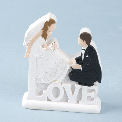 'LOVE' Bride & Groom