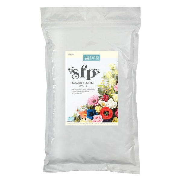Squires Sugar Florist Paste (SFP) - Cream - 1kg
