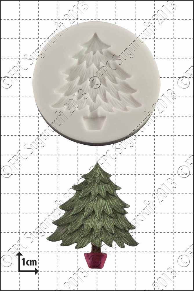 FPC Xmas Tree Silicone Mould