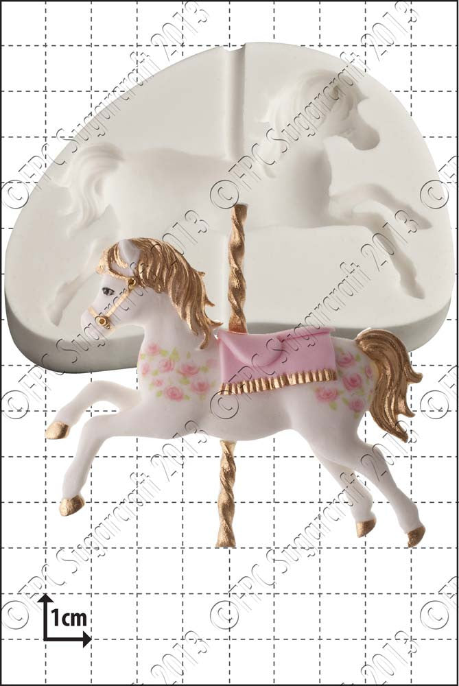 Carousel Horse Silicone Mould