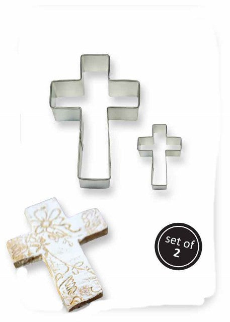 Set of 2 Cross Cutters