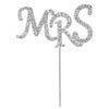 Diamante Cake Pick - Mrs
