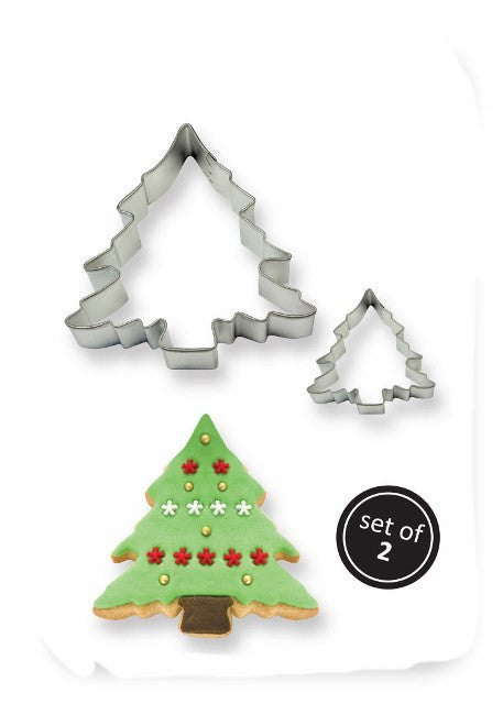 Set of 2 Christmas Tree Cutters