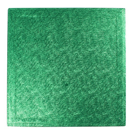 14'' (355mm) Cake Board Square Green