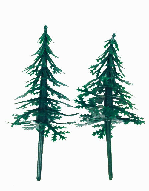 Pack of 2 Christmas Fir Trees