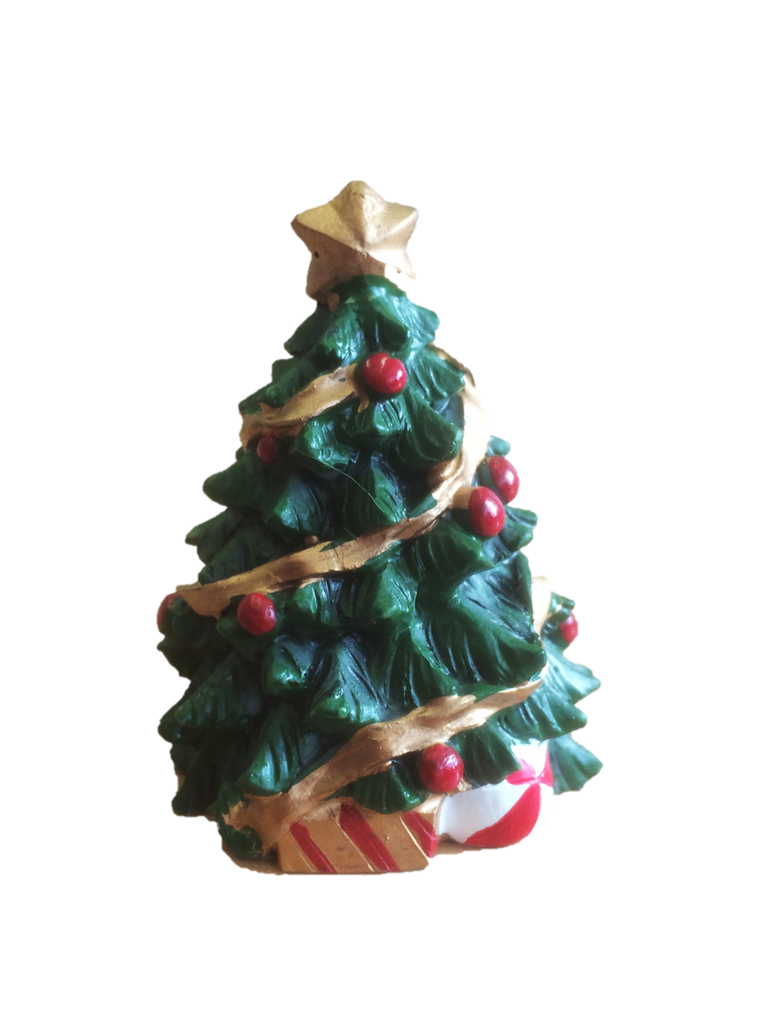 Traditional Christmas Tree Cake Decoration