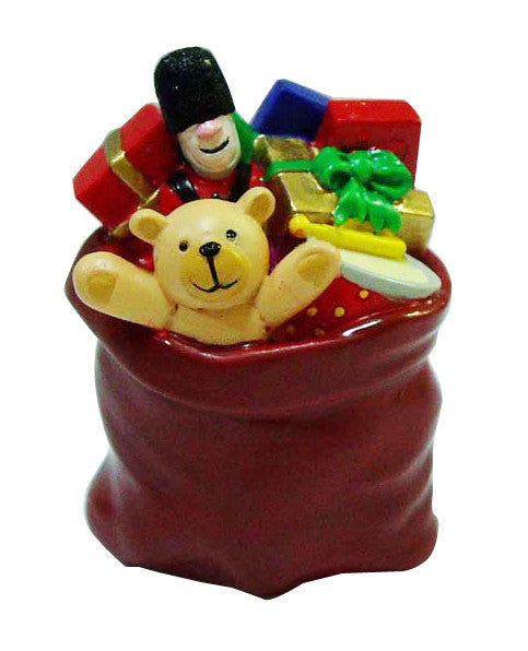 Sack of Presents Christmas Cake Decoration