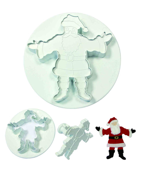 PME Father Christmas Embossing Plunger Cutter, XL