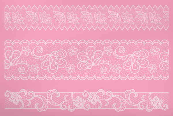 Sweetly Does It Silicone Large Filigree Lace Icing Mat 14