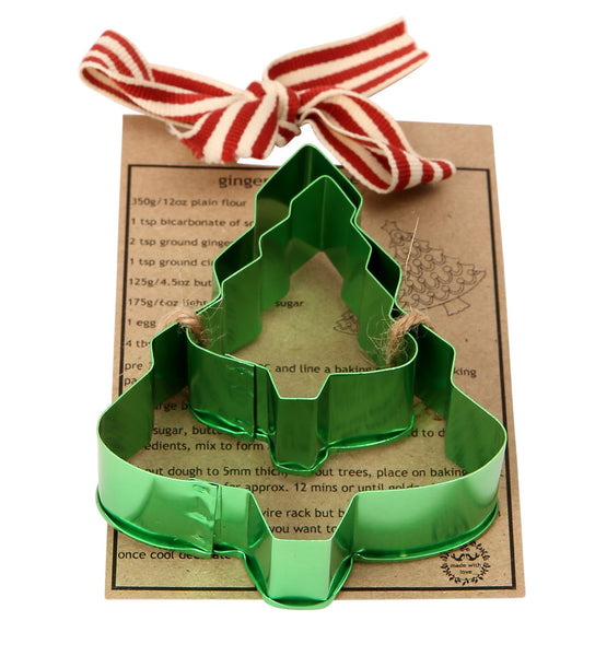 Made With Love Christmas Tree Cookie Cutter Set