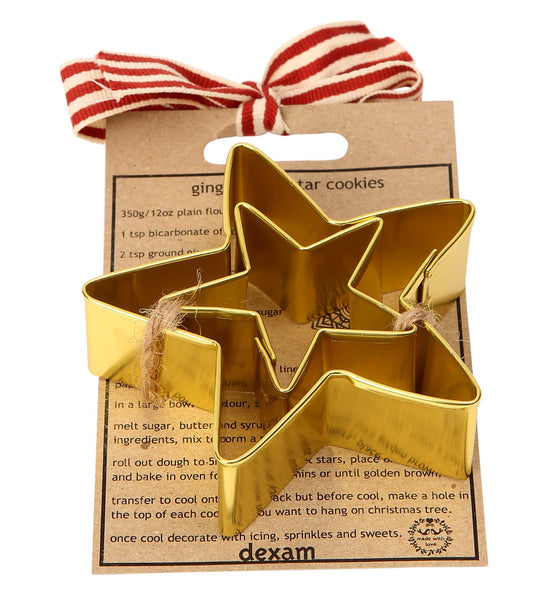 Made With Love Star Cookie Cutter Set