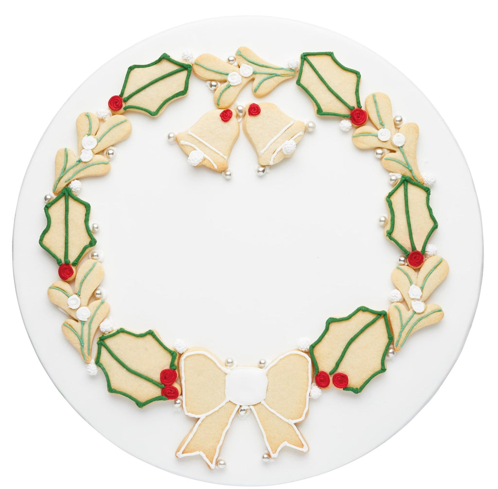 Sweetly Does It Christmas Wreath Cookie Cutters