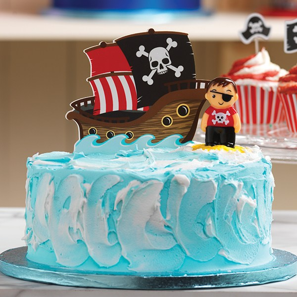 Excellent Pirate Ship Cake Pic The Cake Guru Birthday Cards Printable Riciscafe Filternl