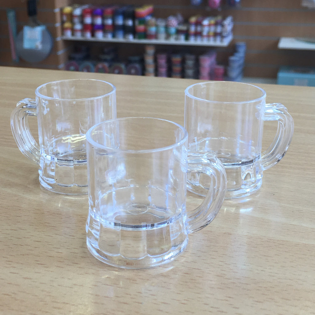 Beer Tankard Plastic Decoration