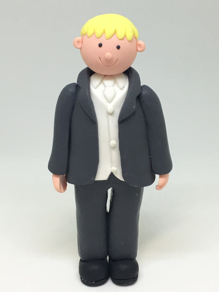 Blonde Groom Figurine