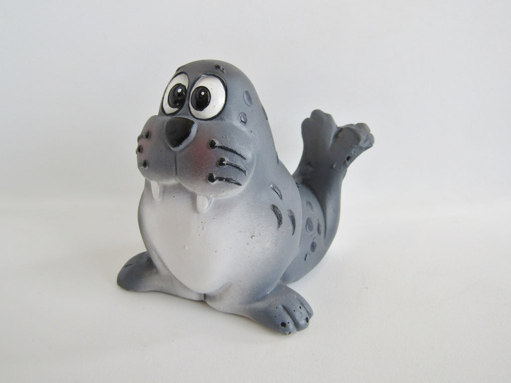Large Sea Life Resin Cake Topper - Seal