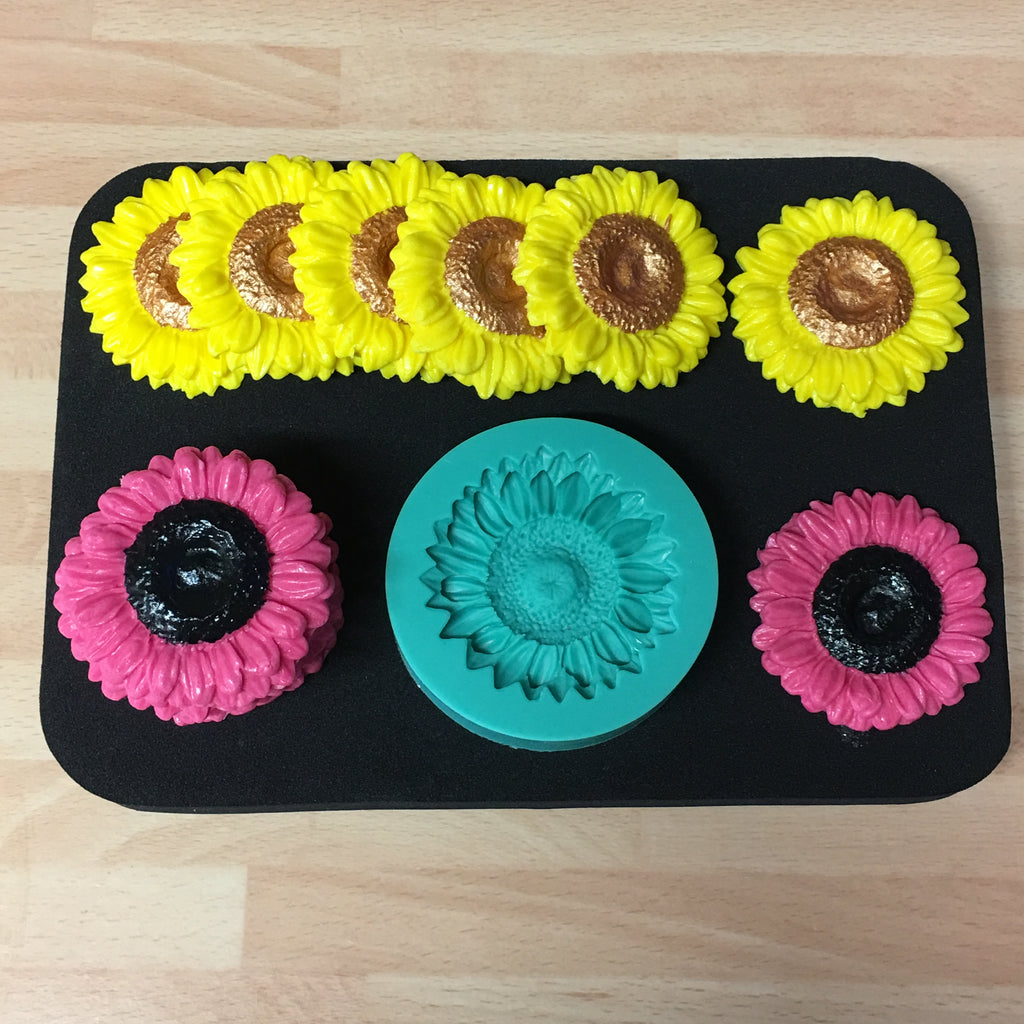 Sunflower/Daisy/Gerbera Silicone Mould